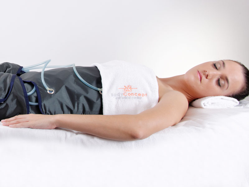 Pressoterapia Ginásio da Estética BodyConcept